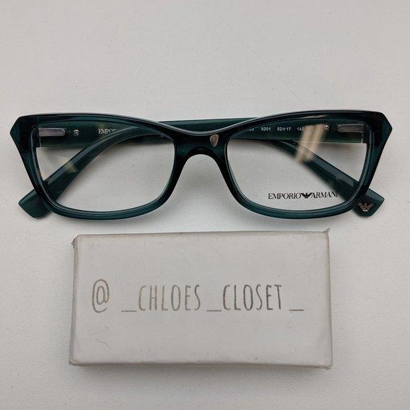 🕶️ Emporio Armani EA3023 5201 Eyeglasses/TX505🕶️